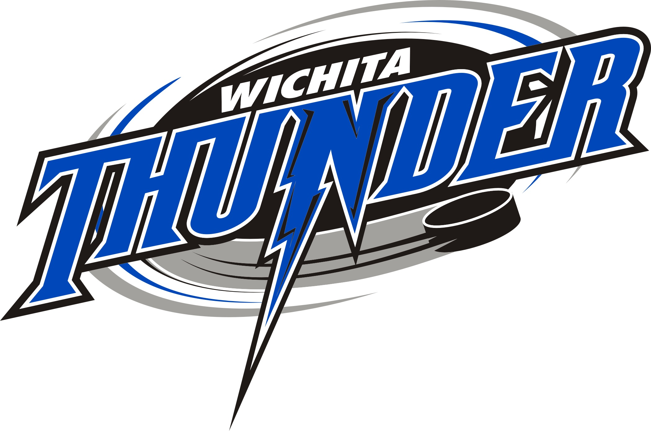 THUNDER LOGO GRAY