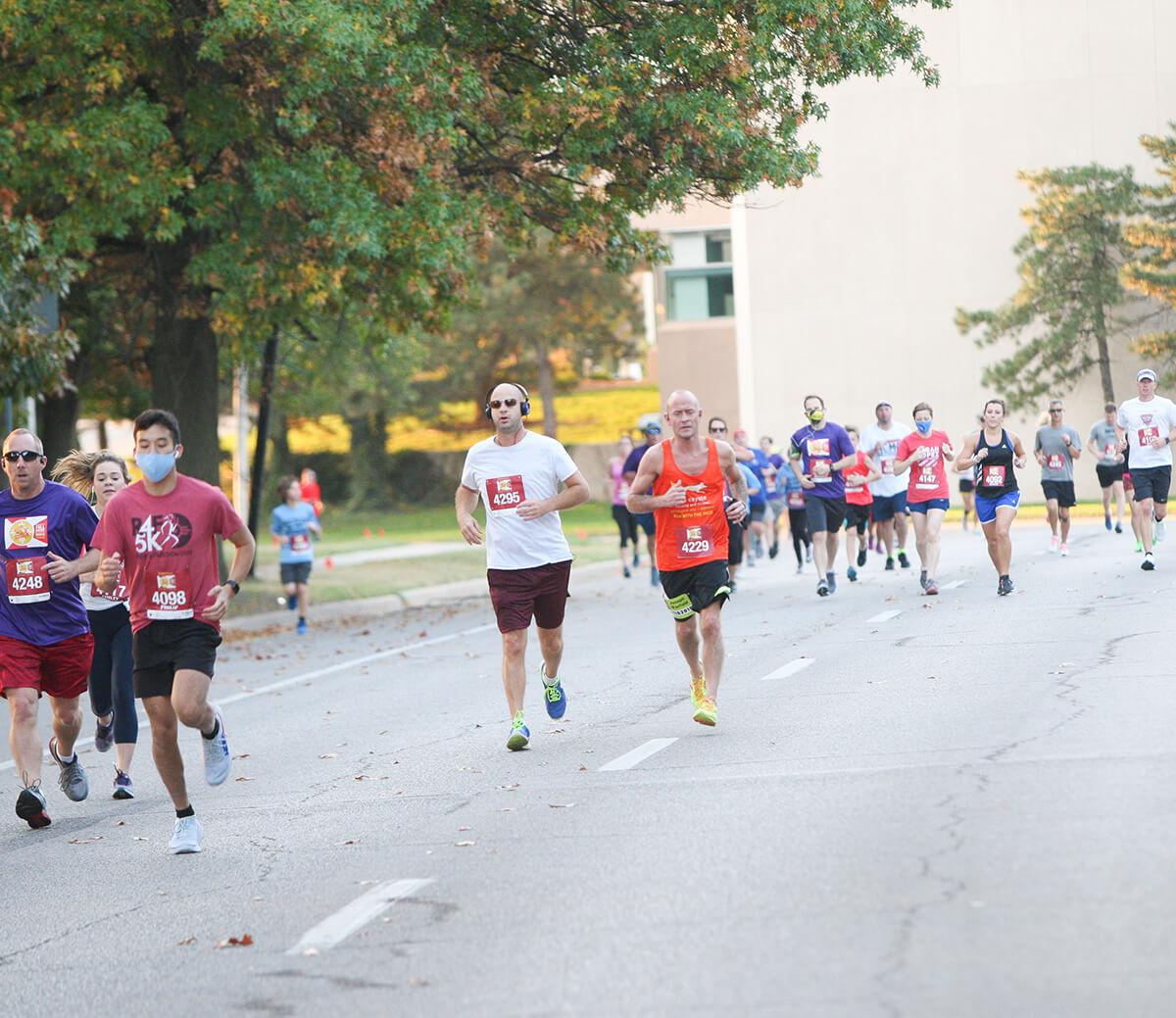 The Prairie Fire Marathon Spring Race Start/Finish will be at 455 S. Wichita St, Wichita, KS 67202.