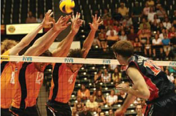 Hosted FIVB World Volleyball League. They returned in 2009 and 2013