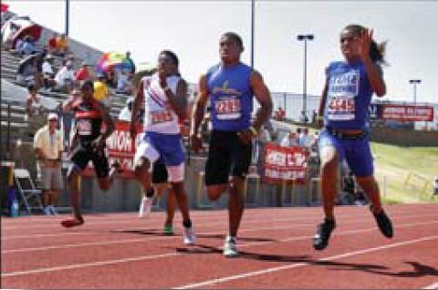Hosted USATF Junior Olympics